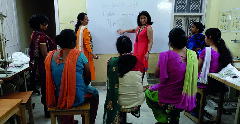 Empowerment through social enterprise - News - About RSM - Home