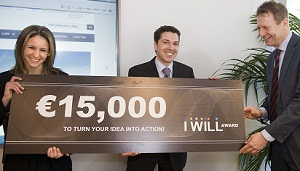 Winner of €15,000 I WILL Award 'will help people to help people'