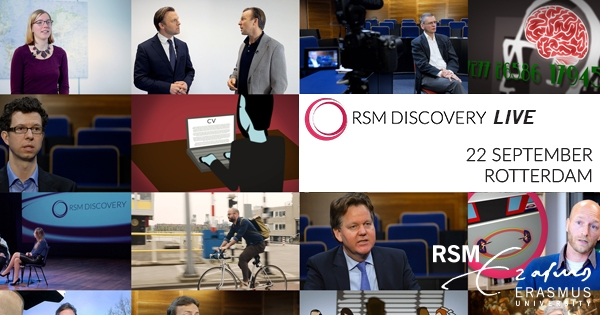 RSM Discovery Live: interactive business event explores 'the future of work'