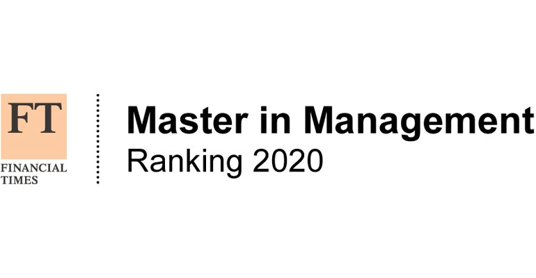 Positive ranking results for RSM MSc programmes