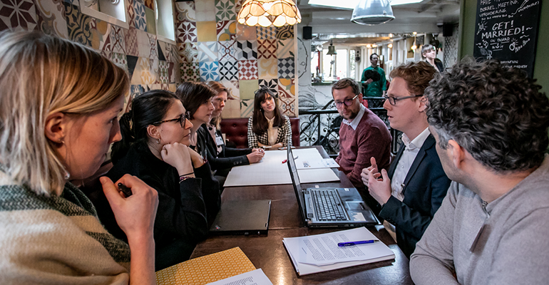 Experts investigate how collaboration can help refugees and Europe