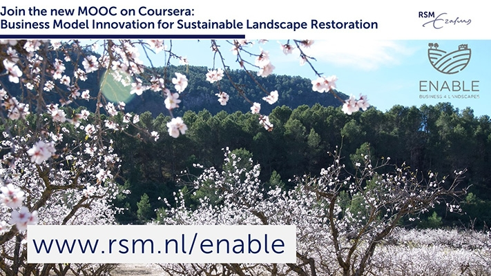 New online course on business-driven sustainable landscape restoration