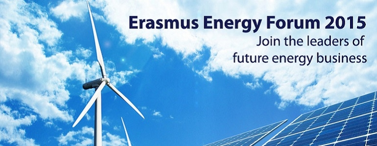 Impressive line-up of speakers for Erasmus Energy Forum
