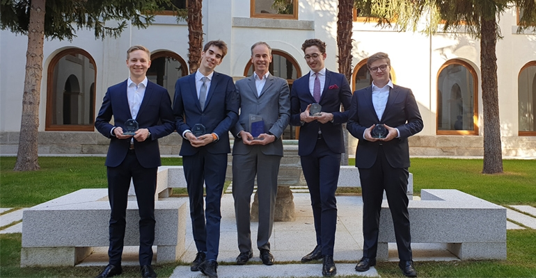Triumph for RSM students at business case competition in Madrid