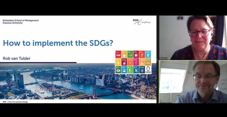 How to implement SDGs in business