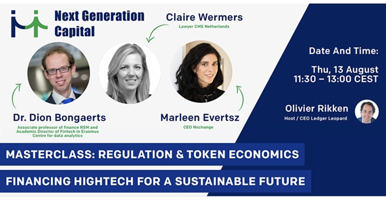 Webinar explores regulation and token economics to protect investors