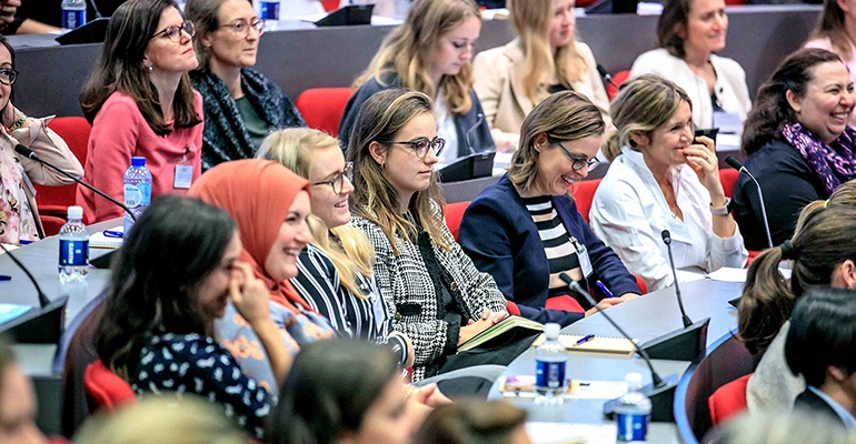 High-energy conference reminds women to claim power in business