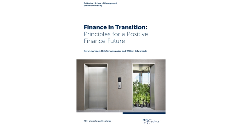 From traditional finance to positive finance – creating sustainable value